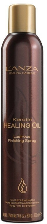 Лак-блеск с кератиновым эликсиром - L'Anza Keratin Healing Oil Lustrous Finishing Spray