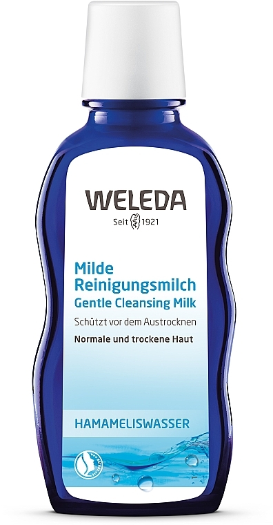 Нежное очищающее молочко для лица - Weleda Milde Reinigungsmilch