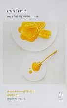 Духи, Парфюмерия, косметика Тканевая маска - Innisfree My Real Squeeze Manuka Honey Mask