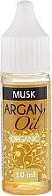 "Парфумерія, косметика Арганієва олія ""Мускус"" - Drop of Essence Argan Oil Musk"