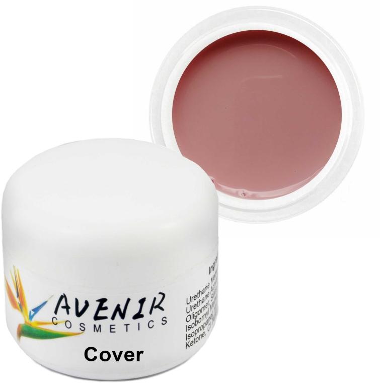 Гель для наращивания ногтей - Avenir Cosmetics Cover — фото N1