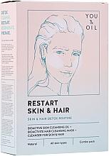 Духи, Парфюмерия, косметика Терапия для лица и волос - Restart Skin & Hair. 3 in 1 Bundle