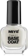 Духи, Парфюмерия, косметика Базовое покрытие для ногтей - Miyo Base Coat