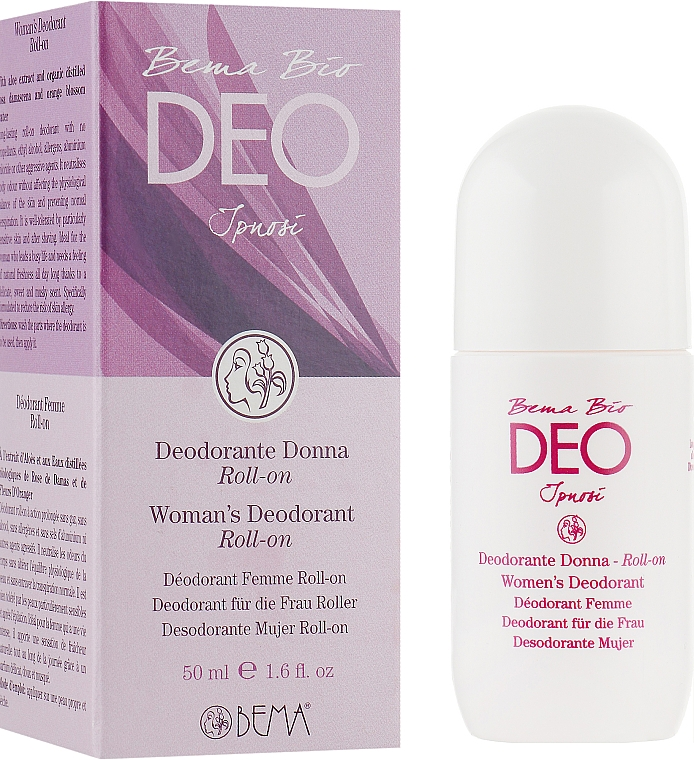 Роликовый дезодорант для женщин - Bema Cosmetici Bio Deo Ipnose Deodorant Roll