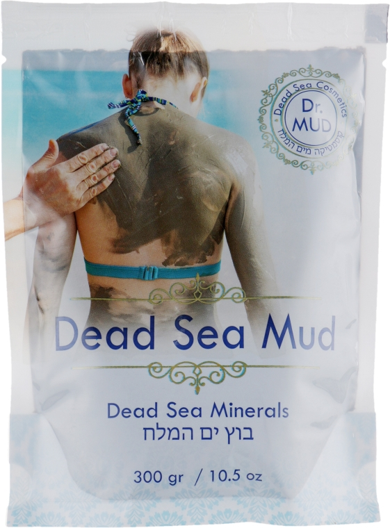 Натуральная грязь мертвого моря - Dr. Mud Dead Sea Minerals