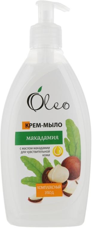 """Крем-мыло для чувствительной кожи """"Макадамия"""" - Oleo"""