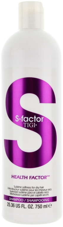 Шампунь для ежедневного применения без сульфата - Tigi Health Factor Shampoo