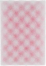 """Духи, Парфюмерия, косметика Губка банная """"Classic"""" с массажным слоем, розовая - Акватория"""