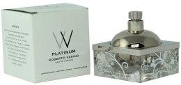 Духи, Парфюмерия, косметика Roberto Verino VV Platinum - Парфюмированная вода (тестер без крышечки)