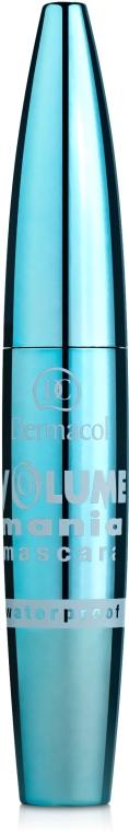 Тушь для ресниц водостойкая - Dermacol Volume Mania Mascara Waterproof