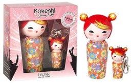 Парфумерія, косметика Kokeshi Parfums Litchee by Jeremy Scott - Набор (edt/50ml + edt/5ml з аксесуаром)