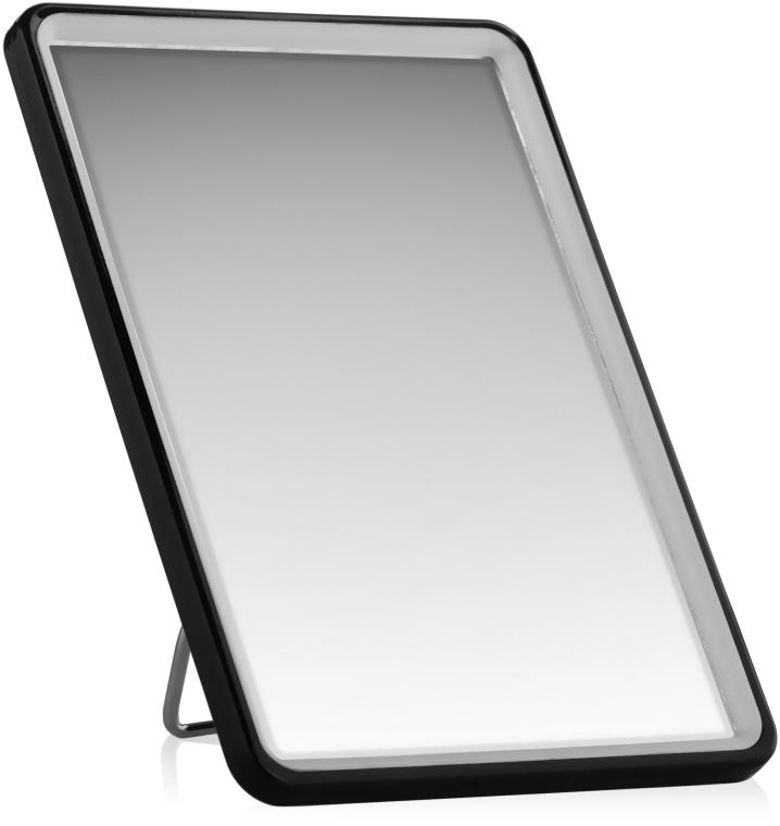 Косметическое зеркало в раме 10х14 см, черное - Titania