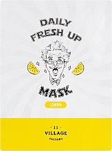 Духи, Парфюмерия, косметика Тканевая маска с экстрактом лимона - Village 11 Factory Daily Fresh Up Mask Lemon