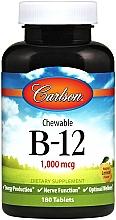 """Духи, Парфюмерия, косметика Пищевая добавка """"Витамин B-12"""", 1000мг - Carlson Labs Carlson Labs Chewable B-12"""