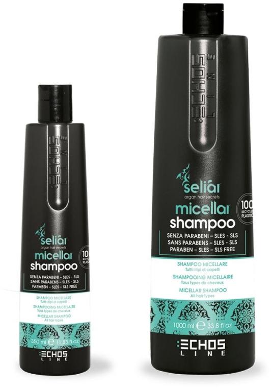 Шампунь для всех типов волос - Echosline Seliar Micellar Shampoo