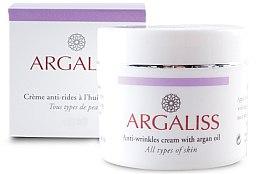 Духи, Парфюмерия, косметика Крем аргановый против морщин - Argaliss Anti-wrinkles Cream with Argan Oil