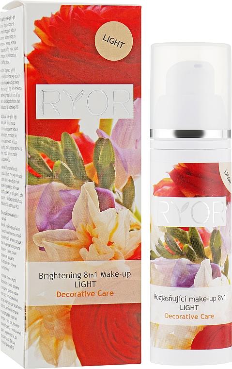 Придающий сияние флюид 8в1 - Ryor Decorative Care Brightening Makeup 8in1