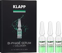 "Духи, Парфюмерия, косметика Двухфазная сыворотка ""Коллаген"" - Klapp Bi-Phase Serum Collagen"