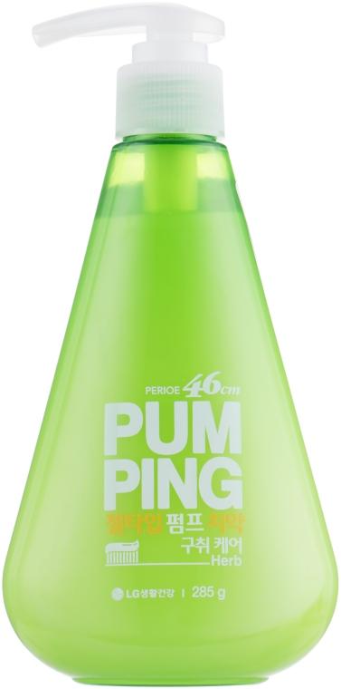 """Гигиеническая зубная паста """"Травы"""" - LG Household & Health Pum Ping"""