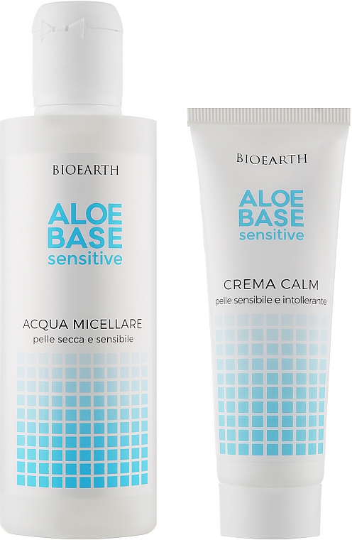 Набор - Bioearth Aloebase Sensative (mic/water/200ml + cr/50ml)