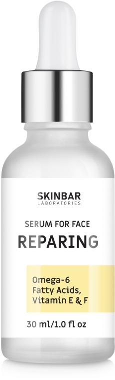"""Сыворотка восстанавливающая с омега-6, витамином Е и F """"Reparing"""" - SKINBAR Acids, Omega 6, Vitamin E + F Reparing Face Serum"""