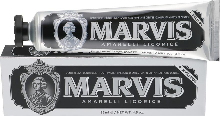 """Зубная паста """"Амарелли Лакрица и Мята"""" - Marvis Amarelli Licorice"""