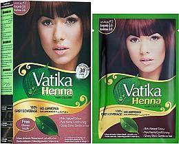Духи, Парфюмерия, косметика Натуральная краска для волос - Dabur Vatika Henna Hair Colours