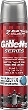 Духи, Парфюмерия, косметика Гель для бритья без отдушек и красителей - Gillette Series Pure & Sensitive Shave Gel For Men