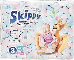 "Духи, Парфюмерия, косметика Подгузники ""More Happiness 3"" (4-9 кг, 60 шт) - Skippy"
