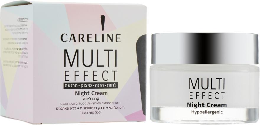 """Крем для лица и шеи """"Ночной"""" - Careline Multi Effect Night Cream"""