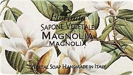 """Духи, Парфюмерия, косметика Мыло натуральное """"Магнолия"""" - Florinda Sapone Vegetale Magnolia"""