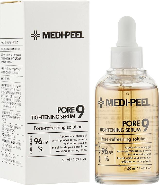 Сыворотка от черных точек и комедонов - Medi Peel Pore Tightening Serum 9