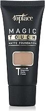 Духи, Парфюмерия, косметика Тональный крем - Topface Magic Touch Matte Foundation