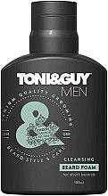 Духи, Парфюмерия, косметика Очищающая пенка для бороды - Toni & Guy Men Cleansing Beard Foam for Short Beards