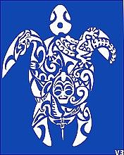 Духи, Парфюмерия, косметика Трафарет для боди-арта, 15х19см, V3 - Biofarma