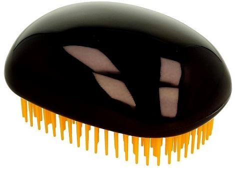 Щетка для волос, сияюще-черная - Twish Spiky 3 Hair Brush Shining Black