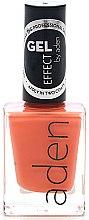 Духи, Парфюмерия, косметика Лак для ногтей - Aden Cosmetics Gel Effect Nail Polish