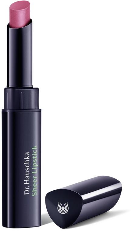Помада для губ увлажняющая - Dr. Hauschka Sheer Lipstick