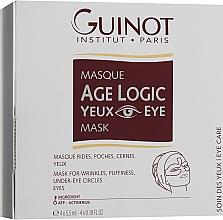 Духи, Парфюмерия, косметика Маска для области глаз омолаживающая - Guinot Age Logic Eye Mask