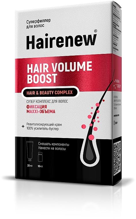 "Инновационный комплекс для волос ""Maxi-объем"" - Hairenew Hair Volume Boost Hair & Beauty Complex"