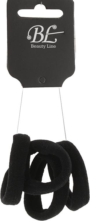 Набор резинок для волос, 405015, черный - Beauty Line