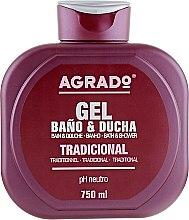 Духи, Парфюмерия, косметика Гель для ванны и душа, традиционный - Agrado Traditional Bath and Shower Gel