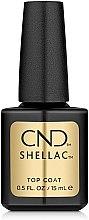 Духи, Парфюмерия, косметика Верхнее покрытие для ногтей - CND Shellac Top Coat
