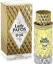 Духи, Парфюмерия, косметика Art Parfum Lady Pafos D'or - Туалетная вода