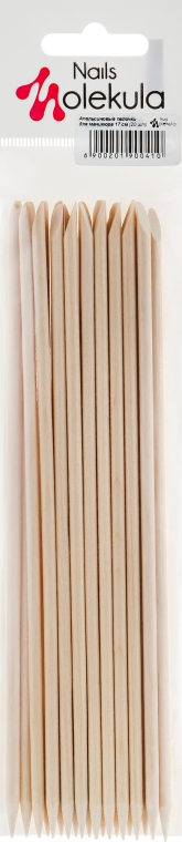 Апельсиновые палочки, 17 см - Nails Molekula