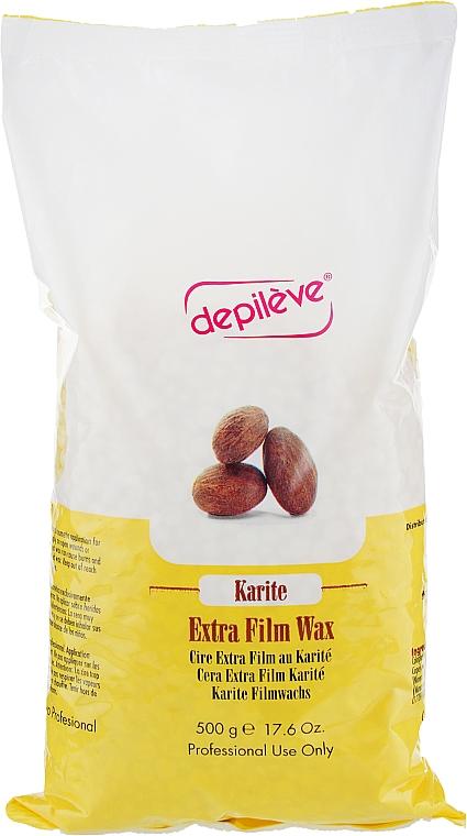 Воск в гранулах пленочный с маслом карите - Depileve Film Karite Wax Beads