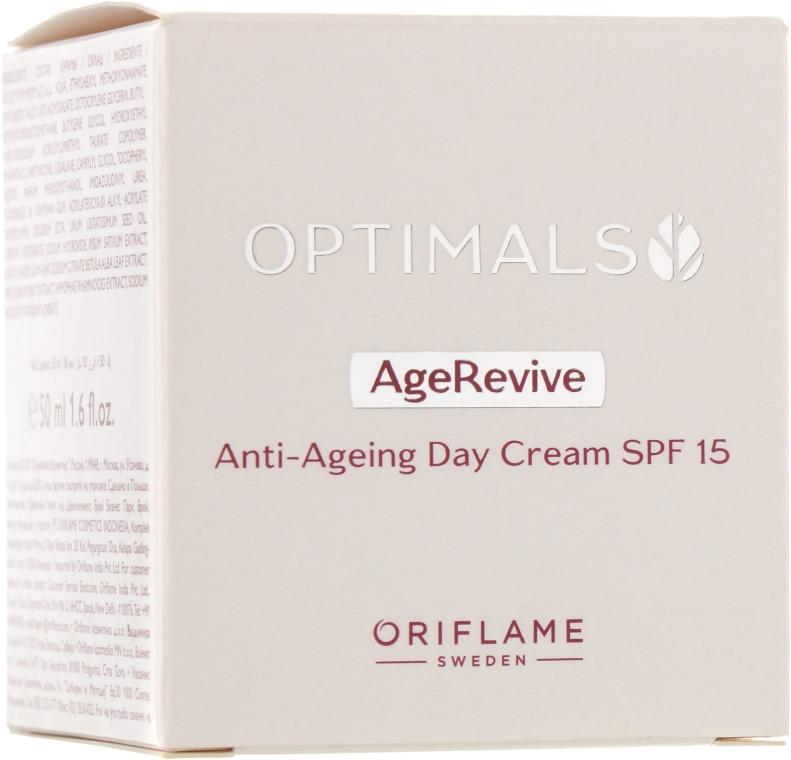 Антивозрастной дневной крем для лица SPF 15 - Oriflame Optimals Age Revive Day Cream SPF 15