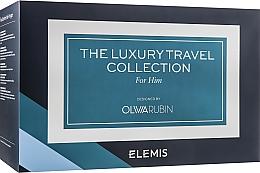 Духи, Парфюмерия, косметика Набор - Elemis Olivia Rubin The Luxury Travel Collection For Him (b/wash/100ml+cr/50ml+shave/gel/50ml+f/wash/30ml+gel/20ml+bag/1pcs)