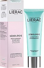 Духи, Парфюмерия, косметика Маска-скраб для лица - Lierac Sebologie Deep Cleansing Scrub Mask