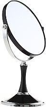 Духи, Парфюмерия, косметика Зеркало косметическое двухстороннее, 85642, черное - Top Choice